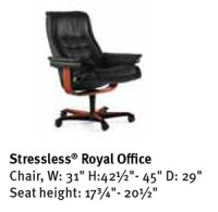 Stressless Royal Office Desk Chair by Ekornes Seating ...