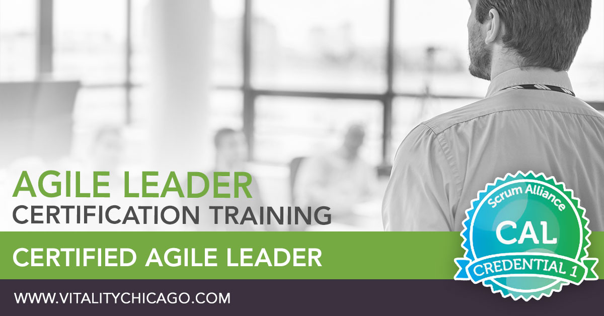 Certified Agile Leader (CAL1) Training