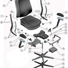 Ergonomic Chair Diagram Black Dining Room Cushions Herman Miller Celle Parts - Authorized Retailer And Warranty Service Center Aeron, Mirra ...