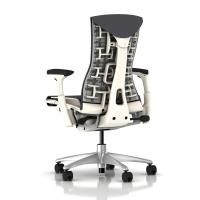 Herman Miller Embody Chair Charcoal Rhythm with White ...
