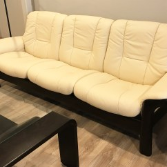 Low Back Sofa Height Kincaid Simone Slipcover Stressless Reclining Wave Sectional W