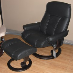 Black Chair And Ottoman Wood Arm Chairs Stressless Senator Paloma Leather Recliner An Error Occurred