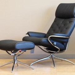 Leather Recliner Chair Brown Lounge Stressless Metro High Back Paloma Black By Ekornes Chairs Recliners