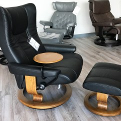 All Leather Recliner Chairs How To Clean A Chair Stressless Wing Paloma Black And