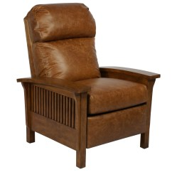 Recliner Chair Leather Child Adirondack Barcalounger Craftsman Ii