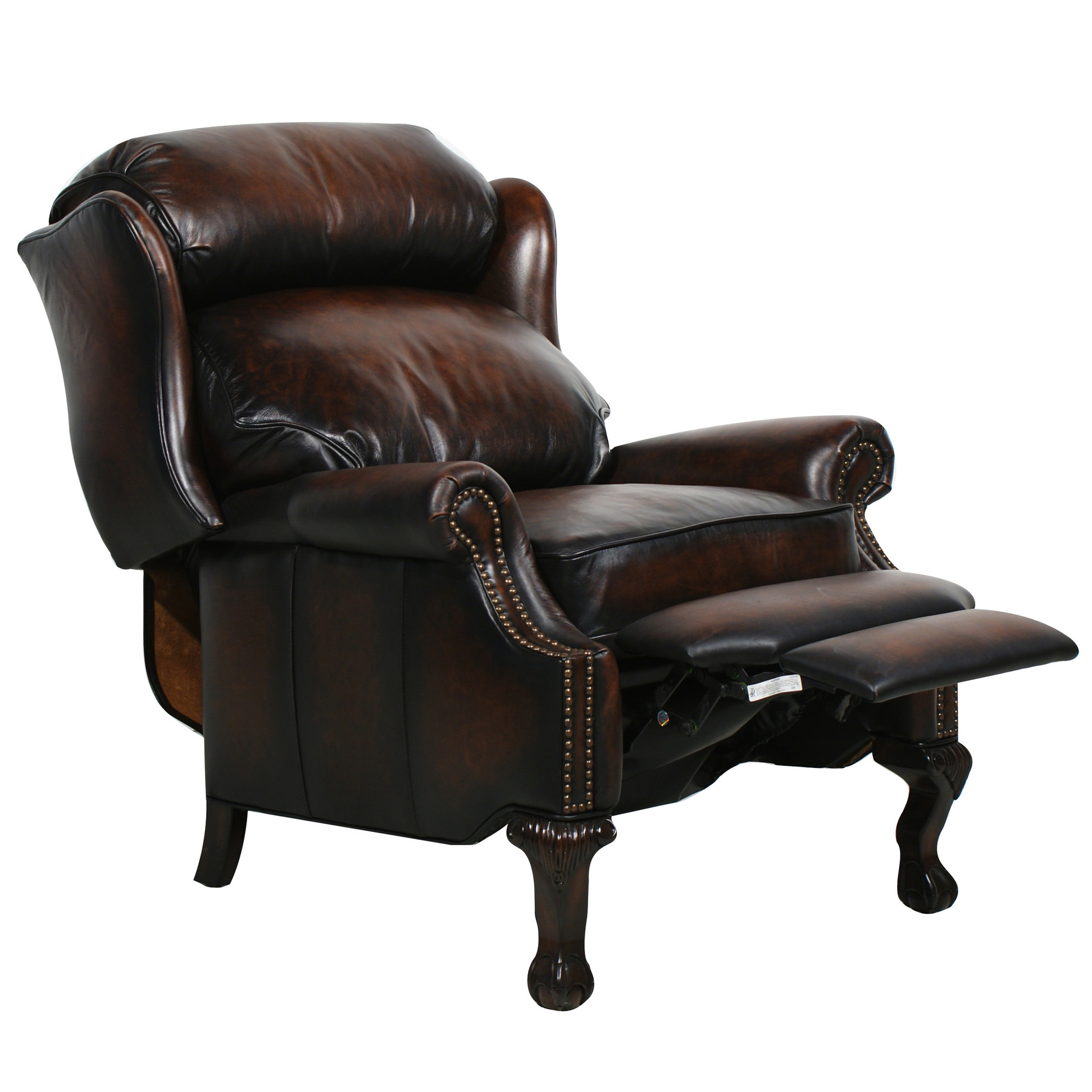 Leather Reclining Chairs Barcalounger Danbury Ii Recliner Chair Leather Recliner Chair