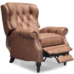 Recliner Chair Leather Broyhill Accent Chairs Barcalounger Kendall Ii