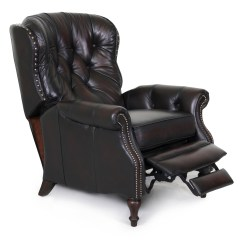 Leather Recliner Chairs Fishing Chair Spare Mud Feet Barcalounger Kendall Ii