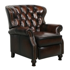 Leather Recliner Chairs Posture Executive Chair New Barcalounger Presidential Ii Stetson Coffee