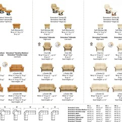 Stressless Chair Sizes Wood Outdoor Chairs Recliner Size Guide Measurement How Do I Determine Dimensions