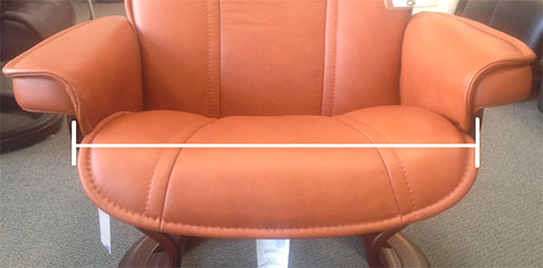 stressless chair sale covers christmas ekornes recliner and sofa sizes dimensions size guide measurement how to determine the of my