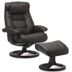 Office Chair Ottoman Covers Rental For Weddings Fjords Mustang Ergonomic Leather Recliner 43