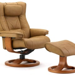Swedish Leather Recliner Chairs Ace Bayou Gaming Chair Fjords Regent Ergonomic 43 Ottoman