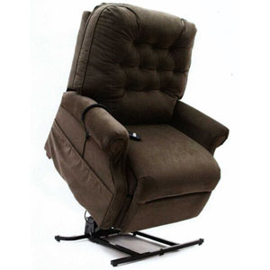 push button recliner chairs adult bean bag lc-500 electric power lift chair by mega motion - heavy duty 500lb 3 position easy ...