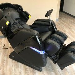 Osaki Os 3d Pro Cyber Massage Chair Black Leather Accent Zero Gravity Recliner And