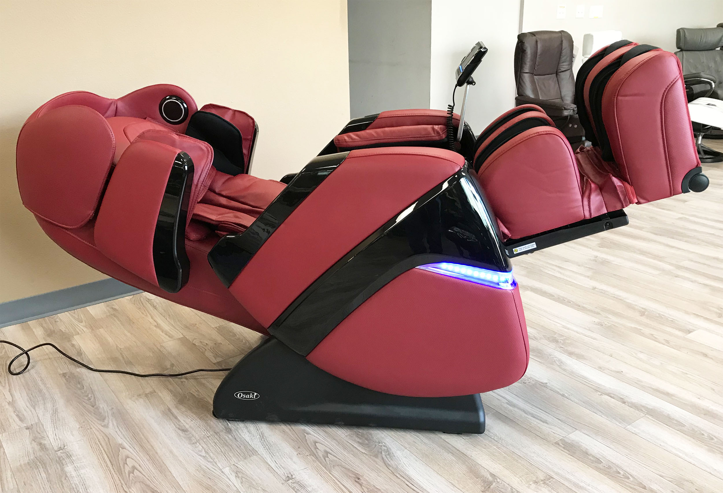 osaki os 3d pro cyber massage chair swing range zero gravity recliner and