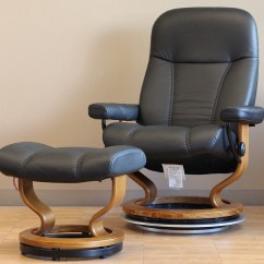 Stressless Chairs Cane With Chair Batick Black 09319 Leather By Ekornes