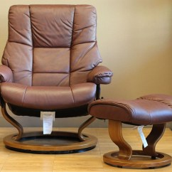 Kensington Leather Chair Fishing Feeder Rest Stressless Paloma Cognac 09441 By Ekornes - ...