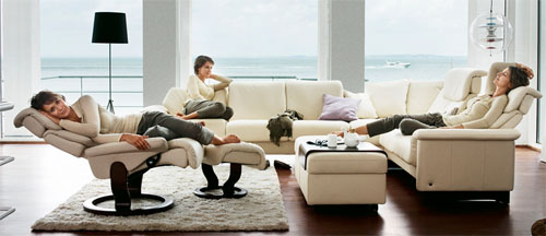 stressless eldorado sofa queen bed reviews ekornes paradise high back - ...