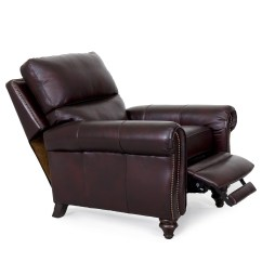 Lounge Chair Leather Stability Ball Desk Barcalounger Dalton Ii Recliner