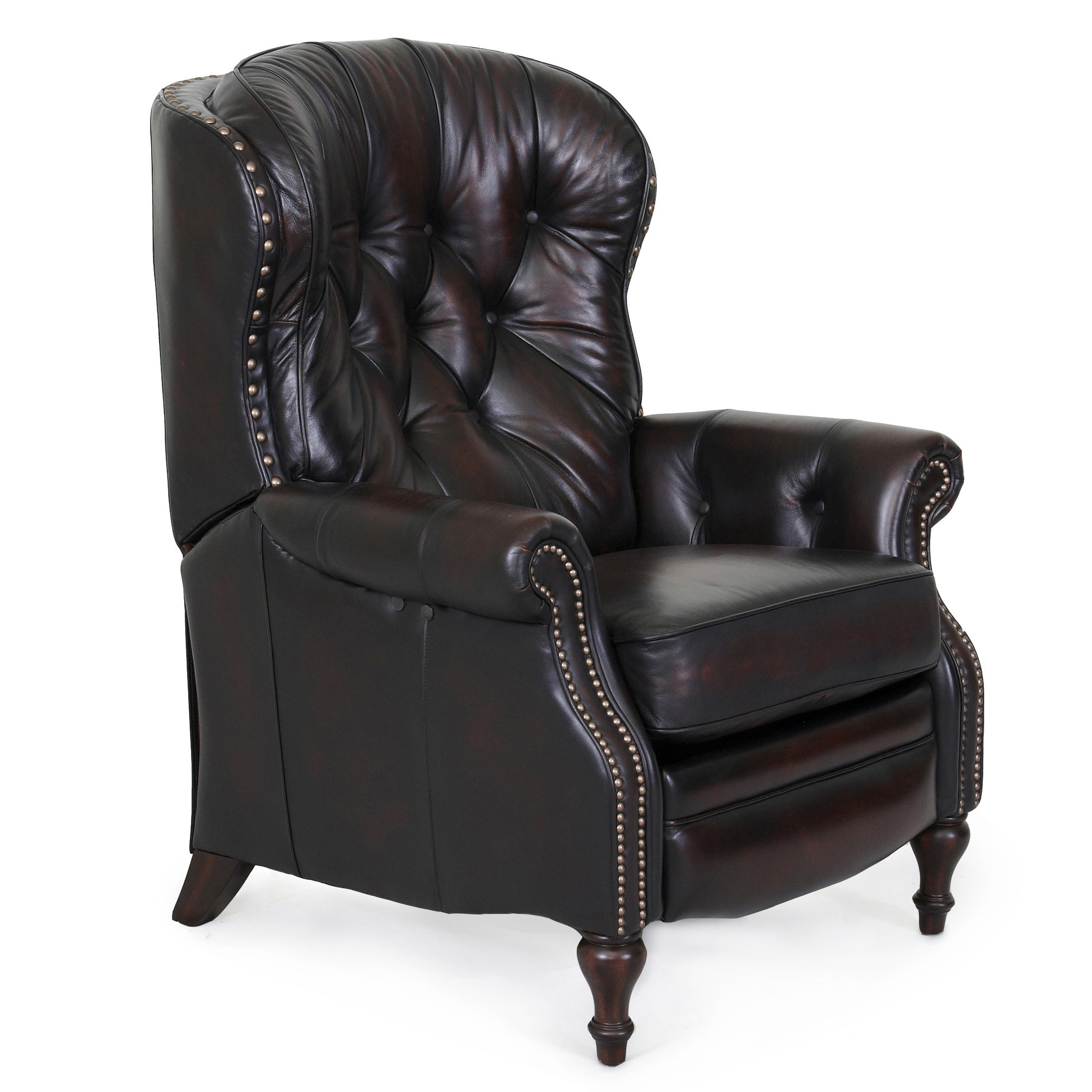 Chair Lounge Barcalounger Kendall Ii Recliner Chair Leather Recliner
