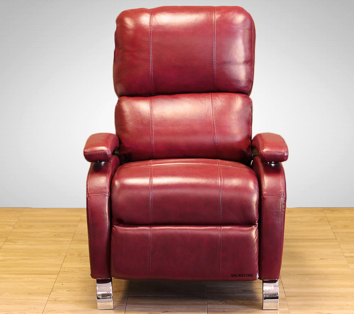 Real Leather Recliner Chairs Barcalounger Oracle Ii Genuine Leather Recliner Lounger
