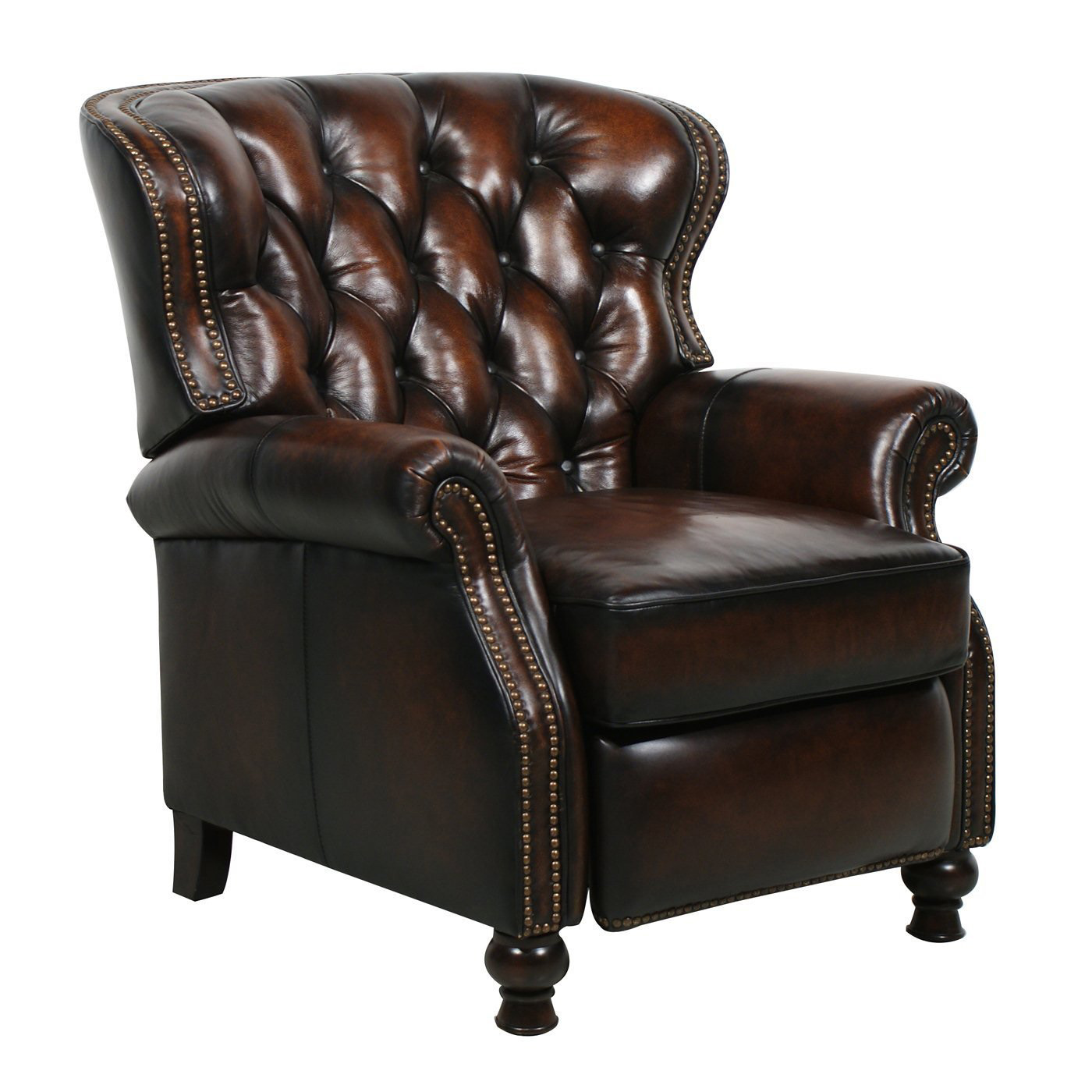 Chair Lounge Barcalounger Presidential Ii Leather Recliner Chair