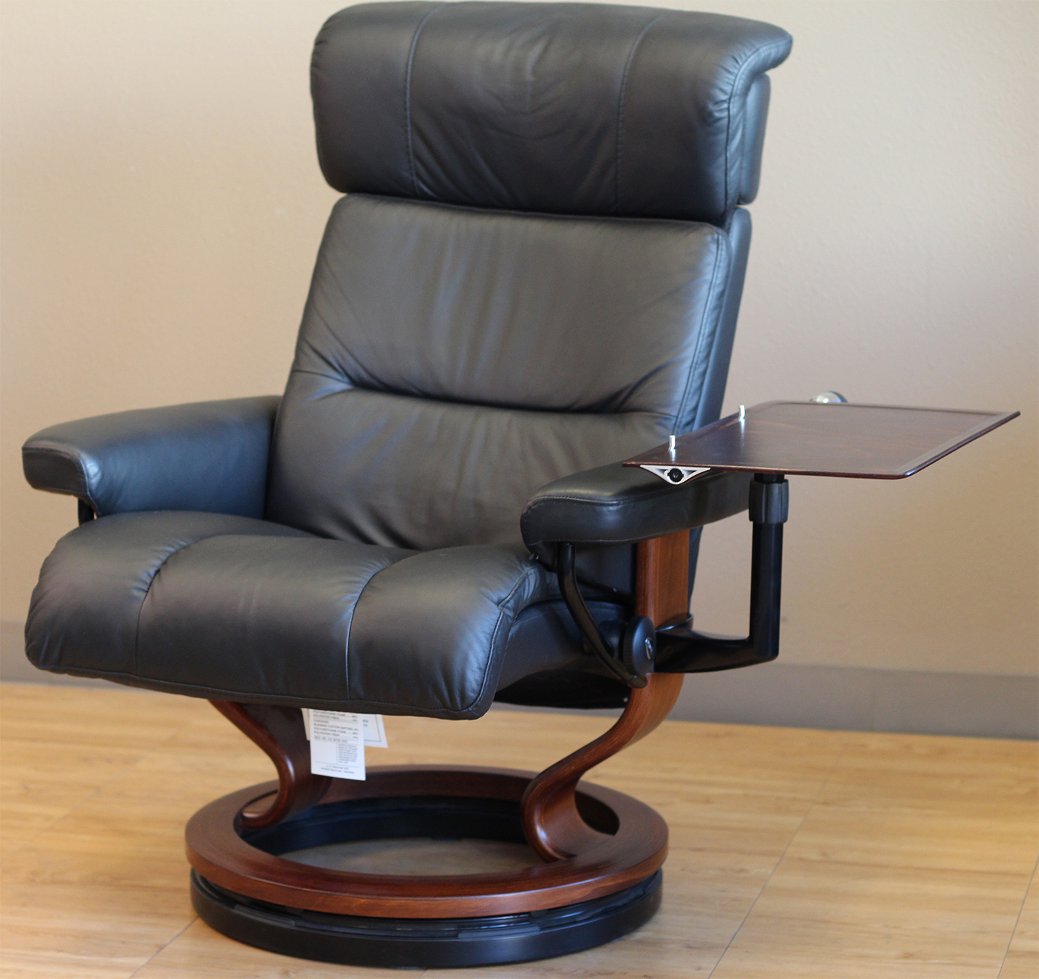 ekornes chair accessories rattan wing back chairs stressless recliner personal computer laptop table for - ...