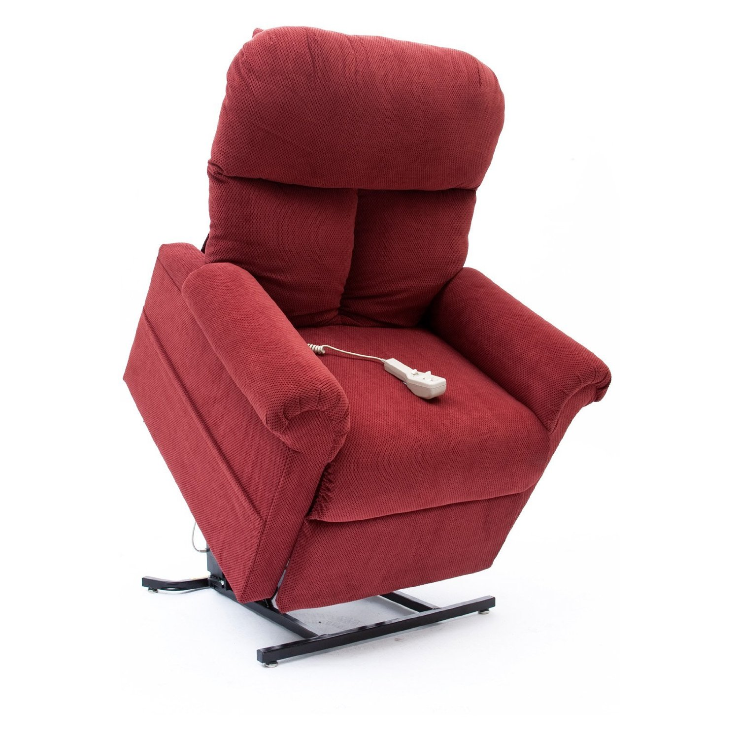 power lift chair graco high 6 in 1 new brandy red fabric easy comfort lc 100