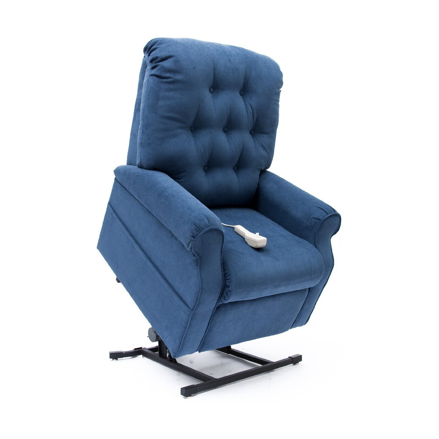 Lift Chairs Recliners New Navy Blue Easy Comfort Lc 200 Power Electric Lift