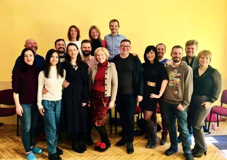 Завершилась программа в Киеве «Организационная Гештальт-терапия и гештальт-коучинг», поздравляю с сертификацией!