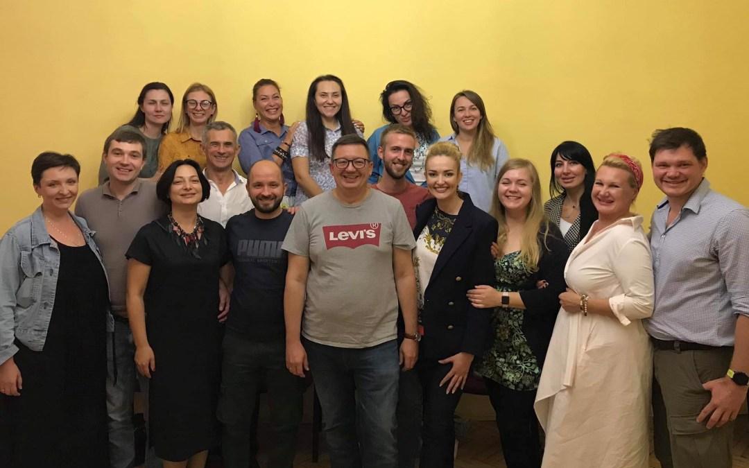 5-й выпуск в Киеве, 20-й выпуск программы «Организационная гештальт-терапия и гештальт-коучинг»