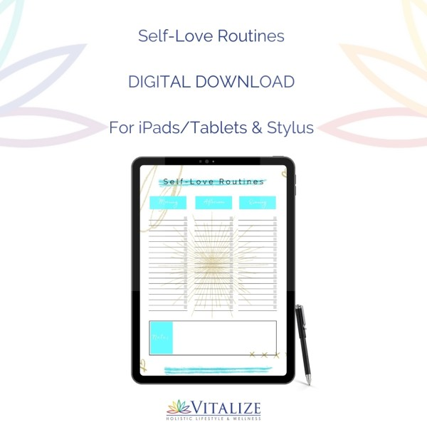 Self-Love Routines Etsy Ad