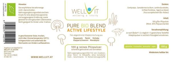 Bio Heilpilz Mischung Active Lifestyle