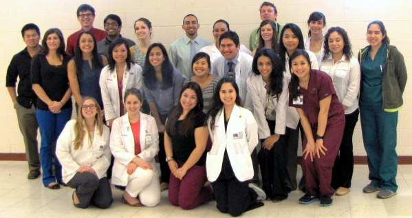 More than 50 patients in Alton, Texas, were reached by 24 professional student pharmacists with Project SHINE in April 2013.