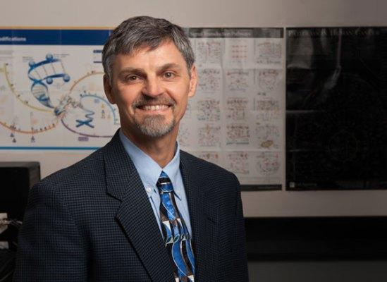 Roderick H. Dashwood, director of the Texas A&M Center for Epigenetics & Disease Prevention.