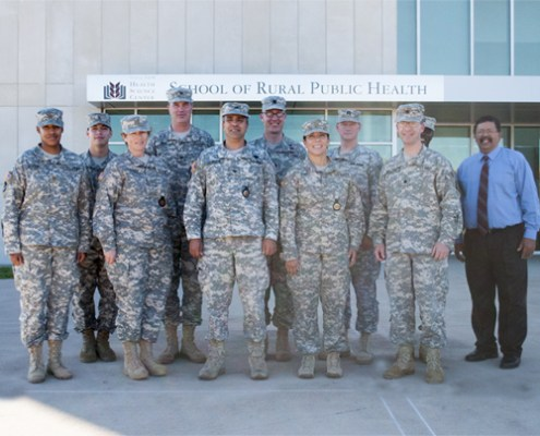 Ft. Sam Houston Soldiers