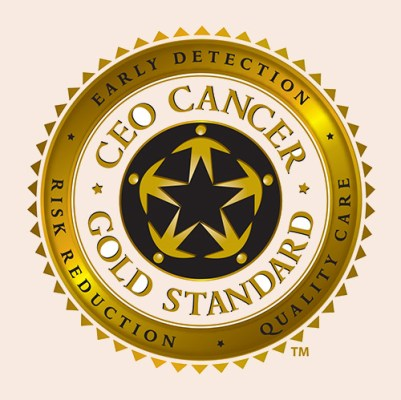 CEO Cancer Gold Standard Seal