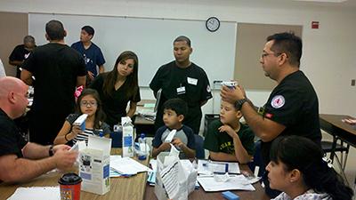 Asthma program student participants