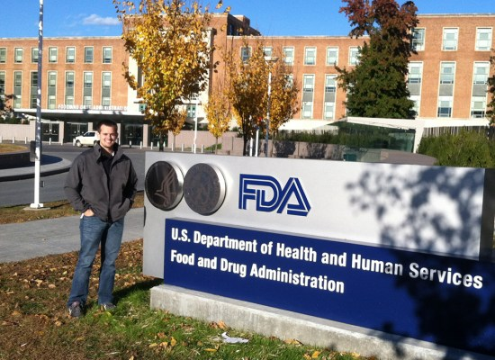 Andrew Himsel, a fourth-year professional student pharmacist at the Texas A&M Health Science Center Irma Lerma Rangel College of Pharmacy, recently completed a rotation with the Food and Drug Administration.