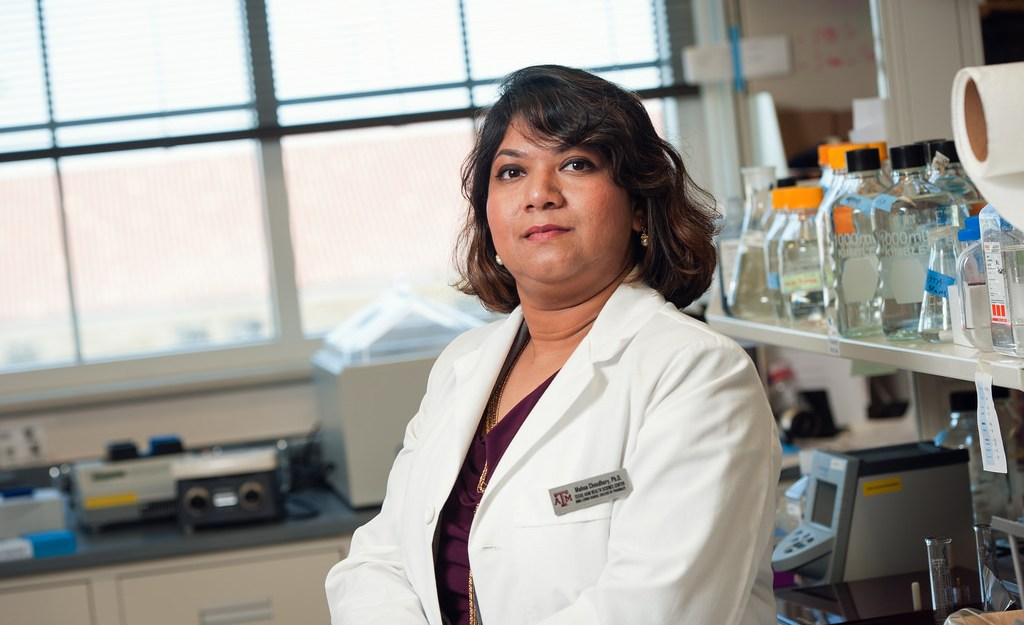 Mahua Choudhury, Ph.D., plans to create a contraceptive that will protect against HIV and other sexually transmitted diseases. Choudhury was one of 54 applicants selected among 1,700 total applications from across the globe.