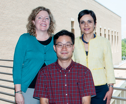Drs. Bita Kash, Daikwon Han, and Tiffany Radcliff