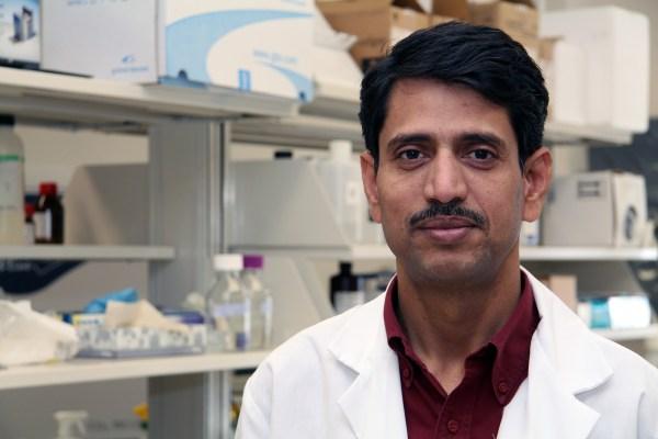Dr. Palakurthi researchers ways to test eye medications.