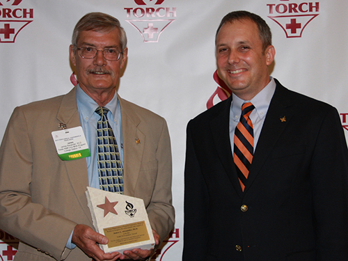 Dr. James Alexander receives the Founder's Award
