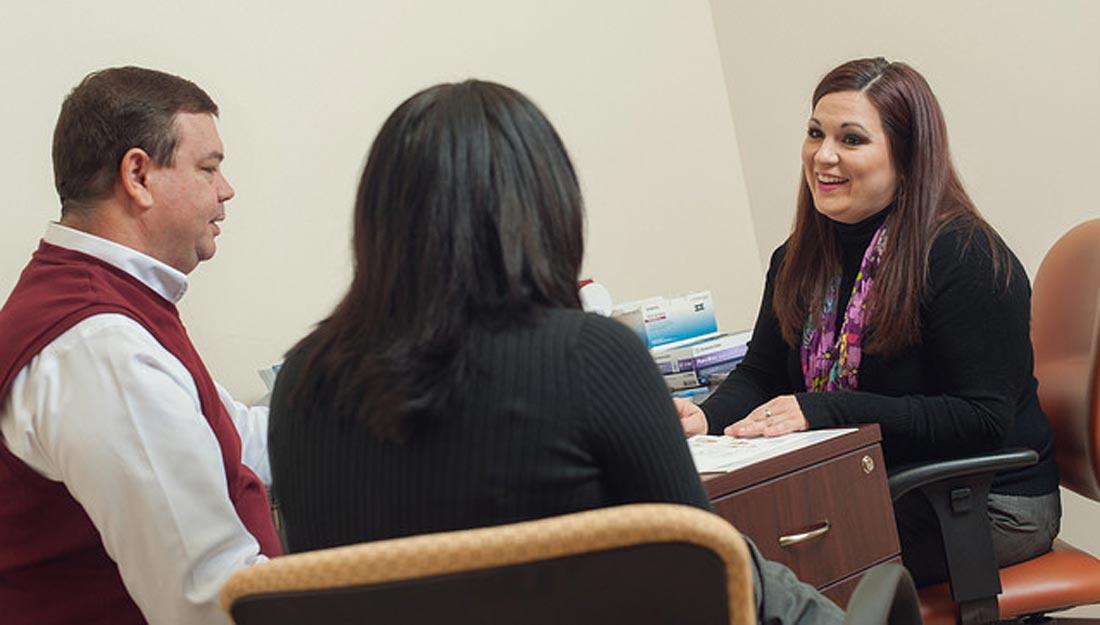 Diabetes education consultation