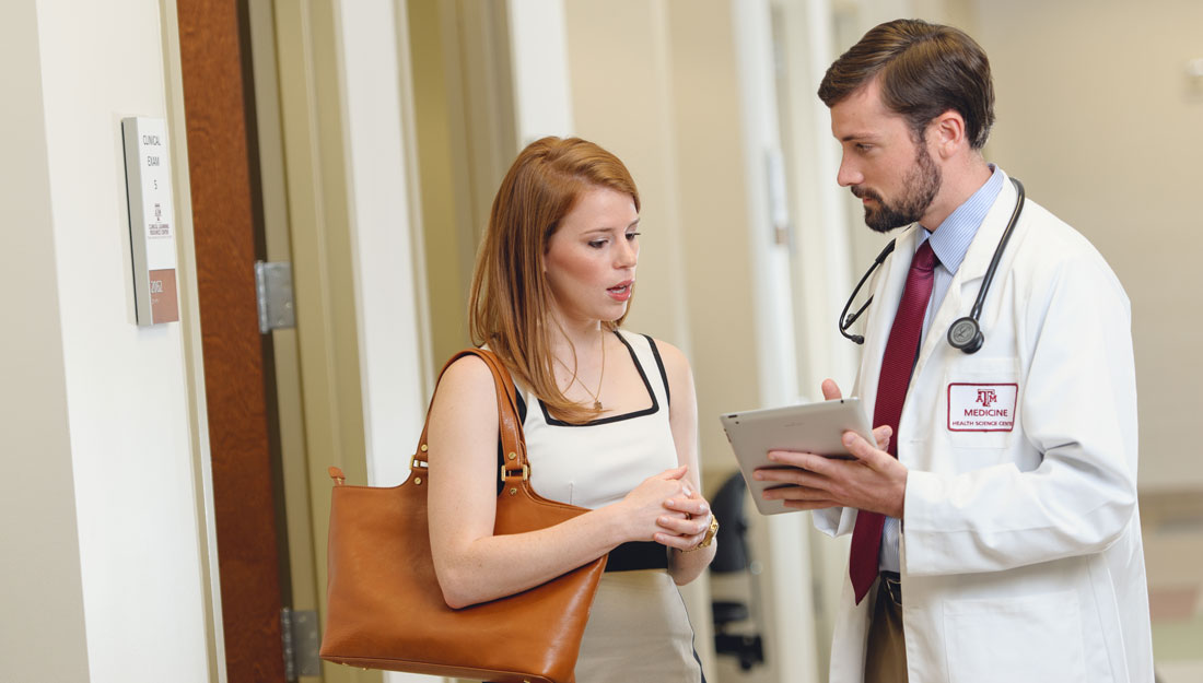 Talking with primary care physician