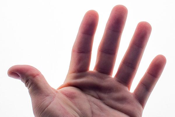 weird body facts - fingerprints