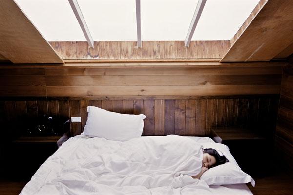 health habits - sleeping