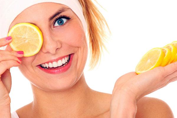 Lemons have cosmetic benefits