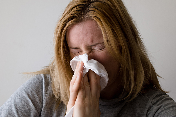If you're stuffy, try a decongestant